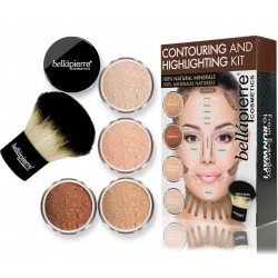 Bellápierre Cosmetics Contouring and Highlighting Kit