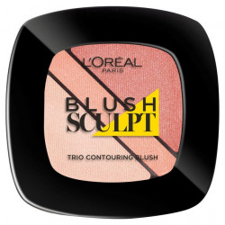 L'Oreal Infallible Blush Sculpt Trio Contouring 102 Nude Beige