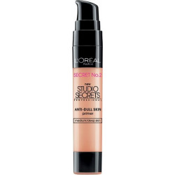 L'Oreal Studio Secrets Professional Color Correcting  Anti-Dull Skin Primer Medium Skin