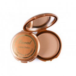 Laval Salon Deluxe Pressed Powder Bronzing Compact Medium Matte 11g