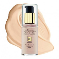 Max Factor Facefinity All Day Flawless 3 in 1 Foundation 47 Nude SPF 20 30ml