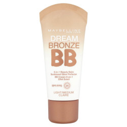 Maybelline Dream Bronze BB 8-in-1 Beauty Balm Sunkissed Glow Perfector Spf25 01 Light/Medium 30ml