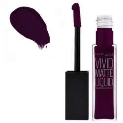 Maybelline Color Sensational Vivid Matte Liquid Lipstick 45 Possesed Plum