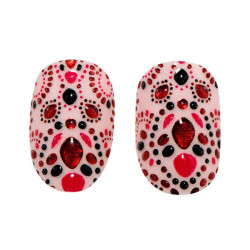 Revlon 3D Nail Art Applique Evening Garnet