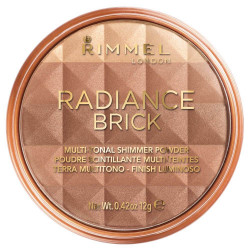 Rimmel London Radiance Brick Bronzing Powder 02 Medium 12g