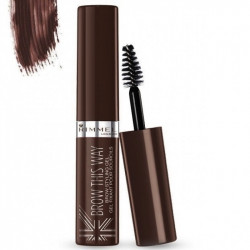 Rimmel London Brow This Way Brow Styling Gel Dark Brown