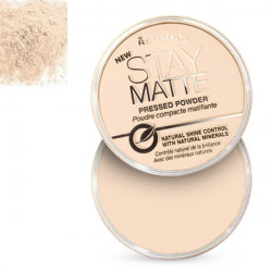 Rimmel London Stay Matte Pressed Powder 01 Transparent 14g
