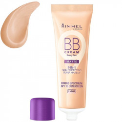 Rimmel London 9-in-1 Beauty Balm BB Cream Matte SPF15 Light 30ml