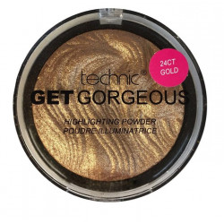 Technic Get Gorgeous 24Ct Gold Highlighting Powder 12g
