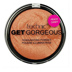Technic Get Gorgeous Peach Candy Highlighting Powder 12g