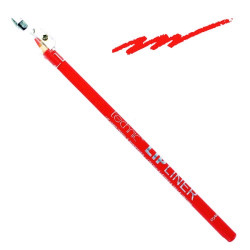 Technic Lip Liner Pencil & Sharpener Bright Red